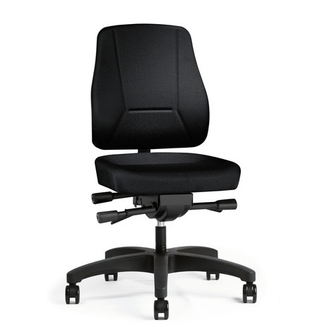 Bürodrehstuhl prosedia Pro, Kunststoff-Fußkreuz
