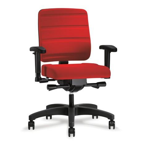 Bürodrehstuhl prosedia Yourope, Rückenlehnenhöhe 490-570 mm