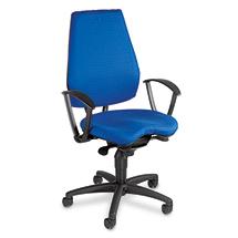Bürodrehstuhl Topstar® Alustar mit Kunststoff-Fußkreuz schwarz