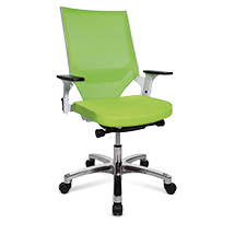 Bürodrehstuhl Topstar® Autosynchron mit Netz-Rückenlehne