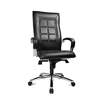 Bürodrehstuhl Topstar® Chairman 45, Sitzpolster schwarz