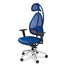 Bürodrehstuhl Topstar® Open Base 10. Mit  Kopfstütze