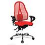 Bürodrehstuhl Topstar® Ortho 15. Mit Netz-Rücken, höhenverstellbare Armlehnen