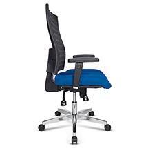 Bürodrehstuhl Topstar® P91-NET. Body-Balance-Tec-Gelenk, höhenverst. Armlehnen