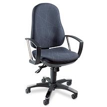 Bürodrehstuhl Topstar® SY 10. Mit ergonomischem Bandscheibensitz
