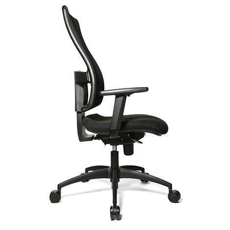 Bürodrehstuhl Topstar® Synchro. Mit atmungsaktivem Netzrücken