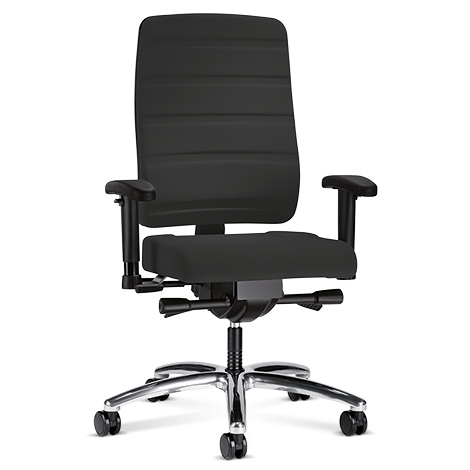 Bürodrehstuhl.Prosedia Yourope Pro. Mit Komfortpolster und Alukreuz