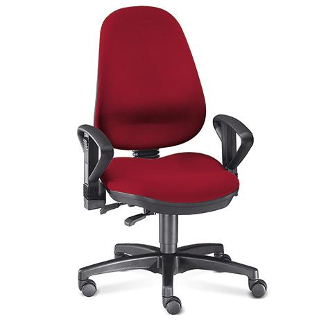 Bürodrehtsuhl RELAX mit hoher Rückenlehne