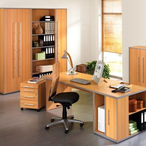 Büroeckregal Elegant