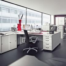 Büroregal JOBexpress, 6 Ordnerhöhen