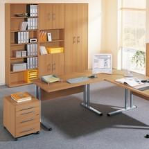Büroregal Starter mit kurzen Türen