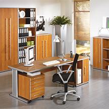 Büroserie ELEGANT in Kirsch-Dekor, Einzelkomponenten