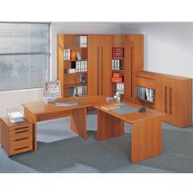 Büroserie STARTER in Kirsche-Dekor, Einzelkomponenten