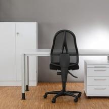 Bureau set Small Office, bureau, ladekast op wielen en sideboard