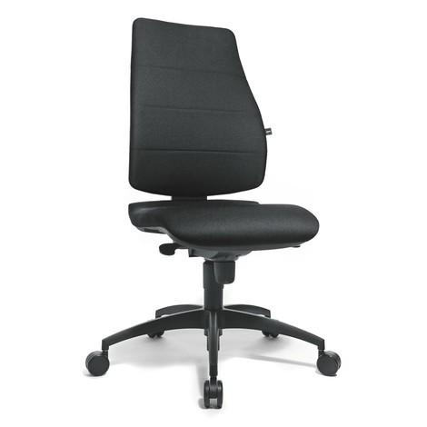 Extra Brede Bureaustoel.Bureaustoel Met Ergonomische Zitting En Leuning Draaibaar
