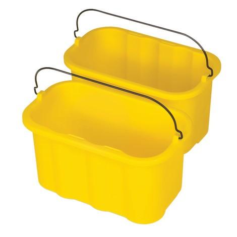 Caddies sanitaires pour chariots de nettoyage