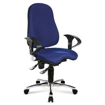 Cadeira de escritório giratória Topstar® Ortho 10