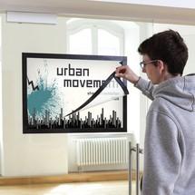 Cadre magnétique DURAFRAME® pour affiches, autocollant