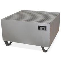Caillebotis pour bac collecteur en acier inoxydable, galvanisé