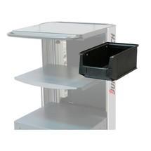 Caixa de armazenamento para a mesa de trabalho móvel Jungheinrich