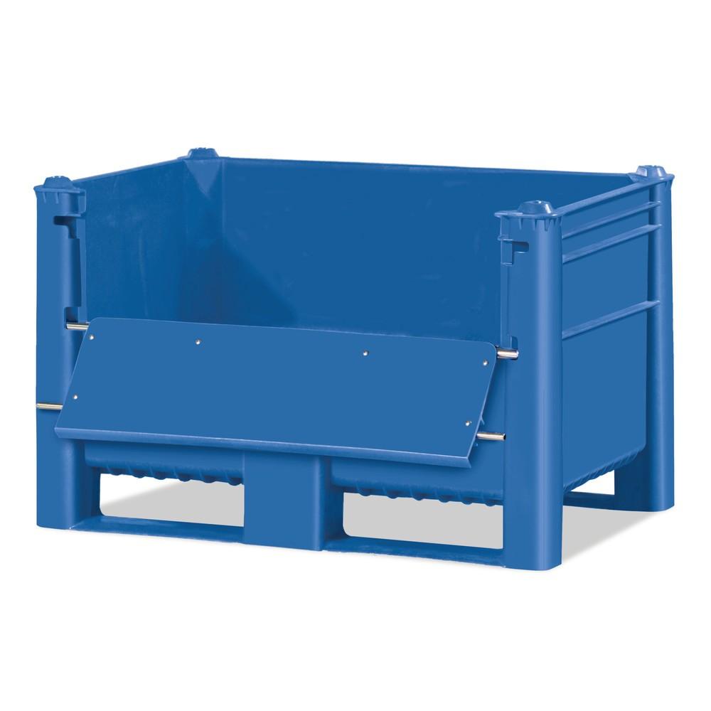 caixas para paletes, com aba de carga