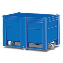 caixas para paletes, com rodas