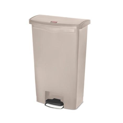 Caixote de lixo com pedal Rubbermaid® Profi, de plástico