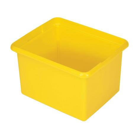 Cajas de almacenamiento para la limpieza del carro plataforma Rubbermaid®