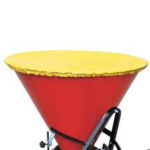 Capot pour chariot d'épandage en tant que remorque pour chariot chasse-neige