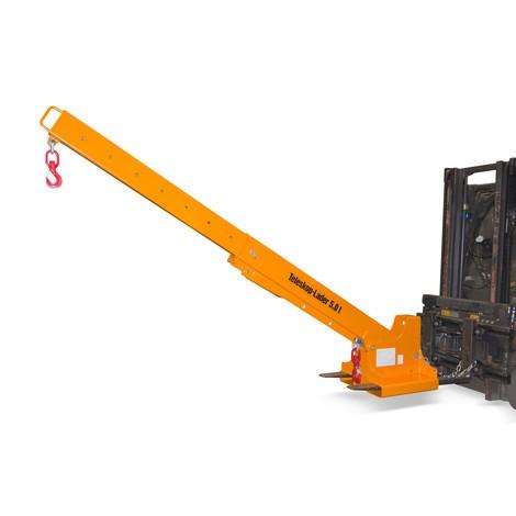 Cargador telescópico modelo 1, alcance hasta 3.690 mm