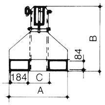 Cargador telescópico modelo 2, alcance hasta 3.655 mm