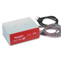 Caricabatterie per vaschetta di cambio batteria