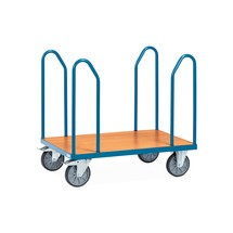 carrello a piattaforma fetra® con staffe laterali