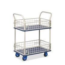 carrello a ripiani Premium con cestini