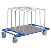Carrello a staffa tubolare BASIC, con 5 staffe