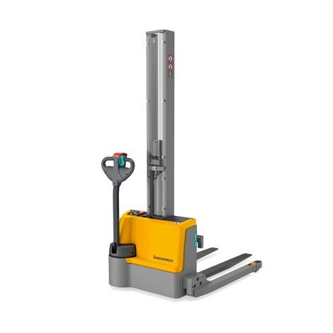 Carrello elevatore elettrico a carreggiata larga Jungheinrich EJC M10b E - montante singolo, ioni di litio