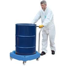Carrello per barili da 205 litri