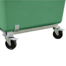 carrello per contenitori rettangolari CEMO in vetroresina