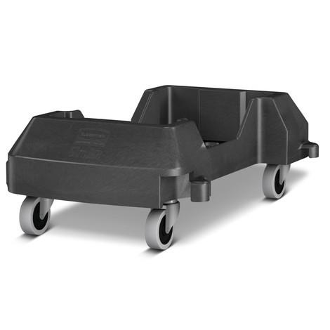 Carrinho de transporte para o caixote de reciclagem Rubbermaid Slim Jim®
