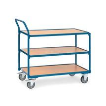 Carro com mesa fetra®, capacidade de carga de 300kg