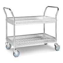 carro de cesta, completamente galvanizado