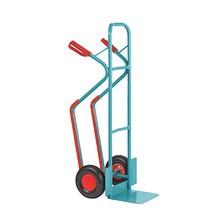 Carro de empilhamento Ameise®, aço, com patim deslizante
