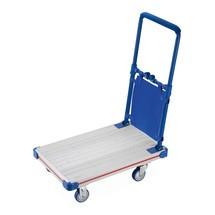 Carro de plataforma de alumínio, articulado