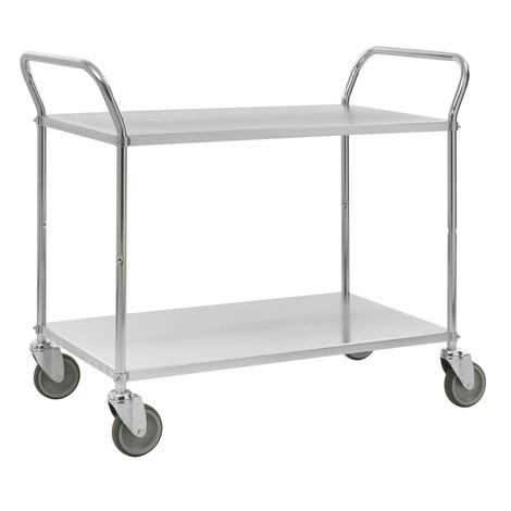 carros con estantes, capacidad de carga 250 kg