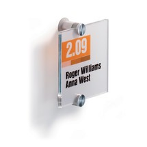 Cartel para puertas Crystal Sign