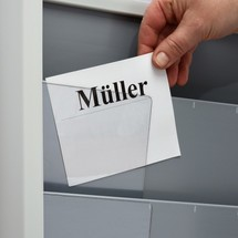 Cartes à onglet pour panneaux muraux