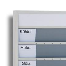 Cartões de indexação para painéis de parede