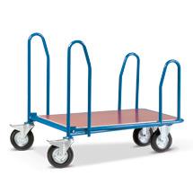 Cash- & Carrywagen, Ladefläche 1010x710mm, mit Seitenbügeln