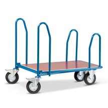Cash- & Carrywagen, mit Seitenbügeln, Ladefläche BxT 610 x 1.010 mm