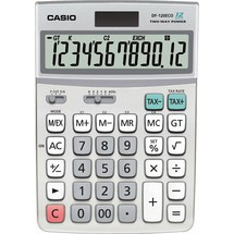 CASIO® Öko-Tischrechner DF-120ECO